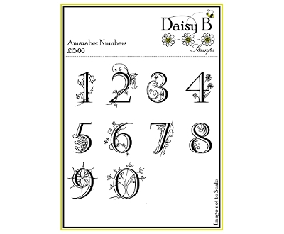 daisy b stamps - amazabet numbers