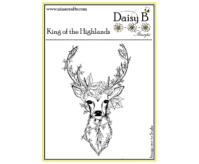 daisy b stamps -  king of the highlands