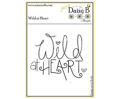 daisy b stamps - wild at heart