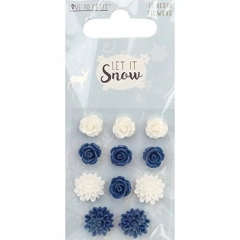love to craft let it snow resin flowers