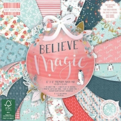 first edition 6x6 paper pad - believe in magic