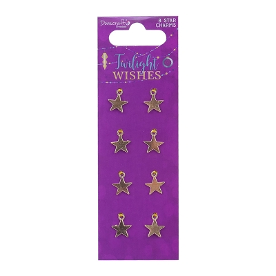 dovecraft twilight wishes metal star charms